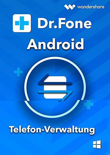 Dr.Fone Android Telefon Verwaltung Win (Product Keycard ohne Datenträger)-Lifetime