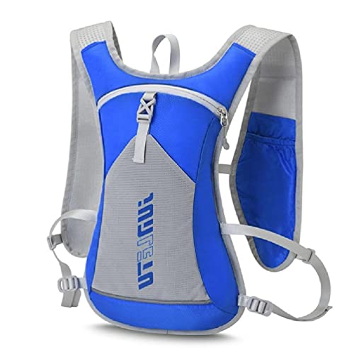 Unkonw Ultra Running Chaleco Pack Bolsa Móvil Hombres Mujeres Mochila Bolsa Gimnasio Deportes Bolsas Maratón Portátil Senderismo Trail Running Bag