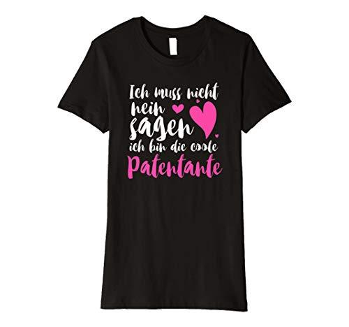 Damen Beste Patentante Shirt Patentante Tshirt