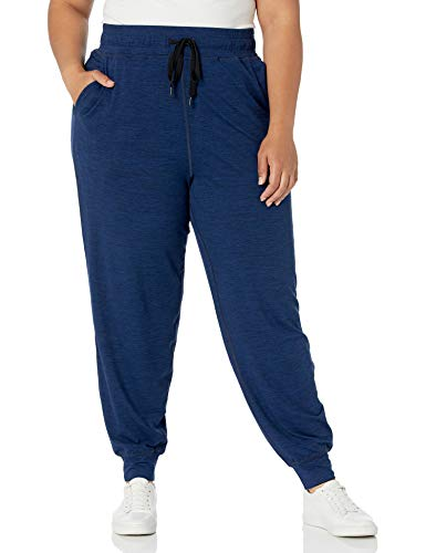 Amazon Essentials Plus Size Brushed Tech Stretch Jogger Pant – athletic-sweatpants Mujer