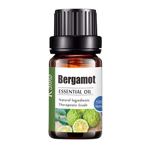 Sayla Ätherische Öle (10ml) - Essential Oil für Aromatherapie - Duftöl für Diffuser - 100% Rein Öle - Lavendel, Rosmarin, Teebaum, Pfefferminz, Eukalyptus, Warten Sie auf 20 Arten (Bergamotte)