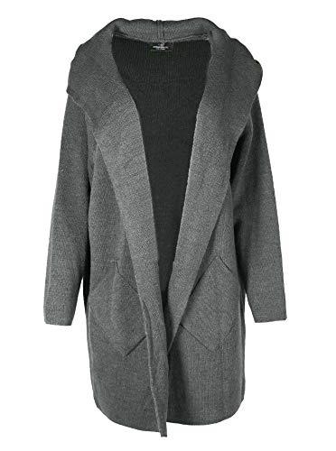 Zwillingsherz Strickjacke Cardigan für Damen Frauen - Hochwertiger Mantel Überwurf...