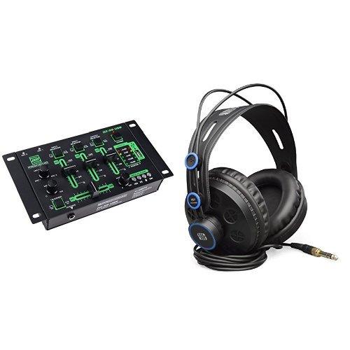 Bundle Pronomic DX-26 - Mesa de mezclas para DJ + Auriculares para DJ PreSonus HD7-A