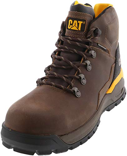 Caterpillar Kinetic Ice+ Waterproof Thinsulate Composite Toe Work Boot Acorn 9.5
