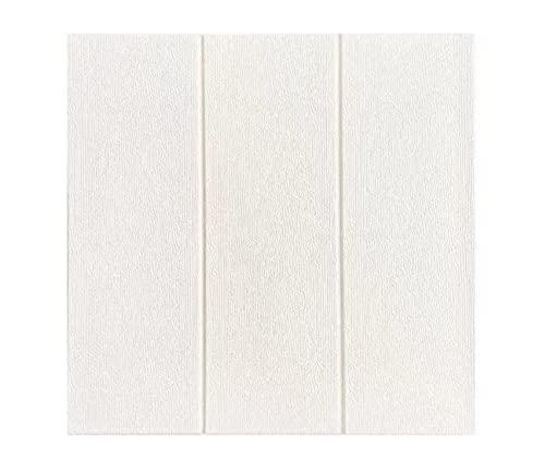 WYDMBH Paneles de Pared de PVC 10pcs 3D Wall Panels Peel and Stick Wood Fondos de Pantalla for Dormitorio de Pared Interior televisor Fondo decoración autoadhesiva Espuma