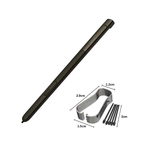 JayTong Original Bolígrafo S-Pen de Repuesto con Puntas/Plumillas para Galaxy Tab A 10.1 2016 SM-P580 P580 P585 (Don't Work on T580 & T585) Negro