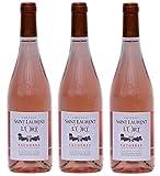 Vin rosé Faugères 2019 - Château Saint-Laurent de l'Ort - 3 bouteilles