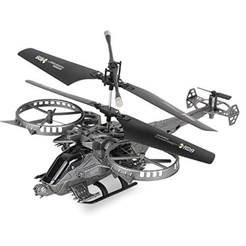 jinclonder Control Remoto avión helicóptero Drone Quadcopter, Cuatro Ejes avión no tripulado Avatar avión RC helicóptero, posicionamiento preciso de 360 Grados, anticolisión y Anti-caída