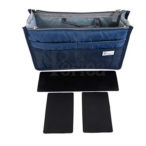 Periea Handtasche Organizer Taschen-Organisator - Chelsy Prämie - 14 Farben verfügbar - klein, mittel oder groß (Royal Blau, Groß)