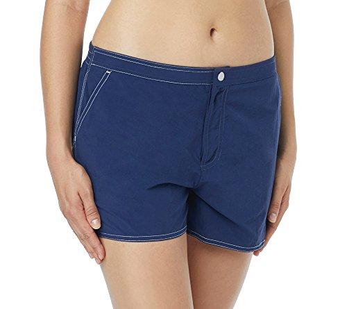 Beach House Damen Board Short Bikini Bottom Swimsuit Bikinihose, Paloma Beach Admiral, 42