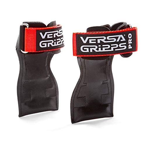 Versa Gripps PRO バーサパワーグリップ 筋力トレーニング・リストストラップ made in the USA (Orange/オレンジ, R/L:18.1-20.5cm)