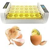 BeautySay ABC Incubadora de Huevos, incubadora de 24 incubadoras con Control de Temperatura y Humedad, Temporizador de Cuenta Regresiva, incubadora Digital de Huevos para Pollos, Patos, Gansos y Aves