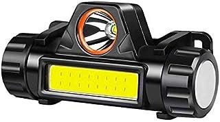 Hoofd Torch USB Oplaadbare LED Koplamp Super Heldere XPE/COB Lichtgewicht Waterdichte Helm Licht Geschikt voor Vissen Jach...
