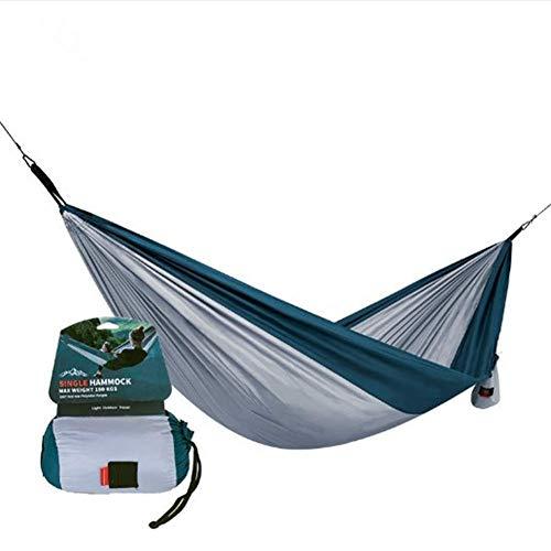 XHLLX Doble Camping Hamaca portátil al Aire Libre Hamaca súper luz Patio Estudiantes Swing Dormitory mousfitting Room para Senderismo Playa mochilero Dormir