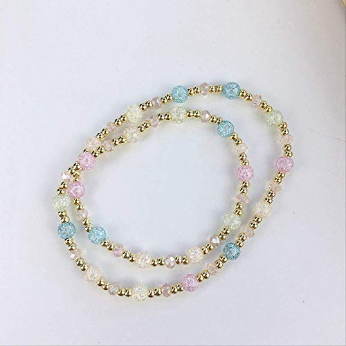 3.5 Diameter RebelJewel Handmade Dazzling Green Crackle Glass /& Imitation Gem Beads Hoop Earrings Fashion Silver Jewellery For Women Girls Ladies