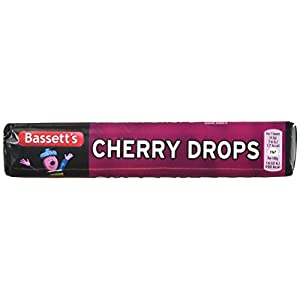 maynards bassetts cherry drops sweets roll 45g Maynards Bassetts Cherry Drops Sweets Roll 45g 41QaSvdDW4L