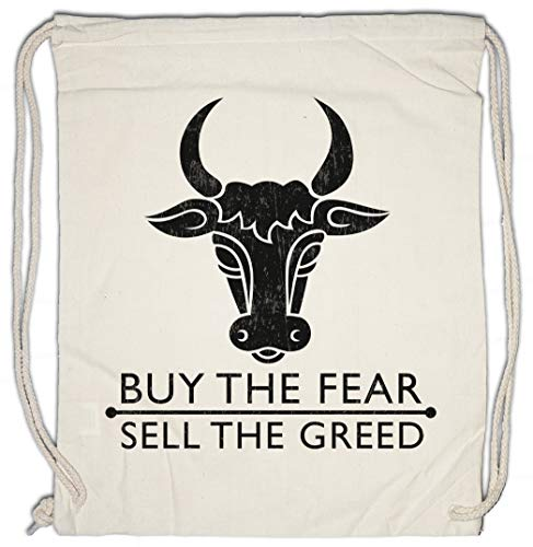 Urban Backwoods Buy The Fear Sell The Greed Turnbeutel Sporttasche