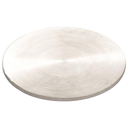 Sotech SO-TECH® Glasmontageplatten für Barkonsole Höhe 200 mm/Ø 50 mm/schräg/Edelstahloptik