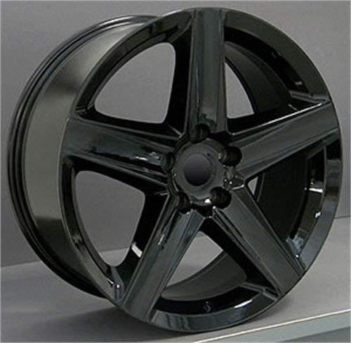 OE Wheels LLC 20 inch Rim Fits Jeep Grand Cherokee Wheel JP06 20x9 Black Wheel Hollander 9082