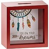 Caja de caudales cuadrada modelo «Follow Your Dreams»