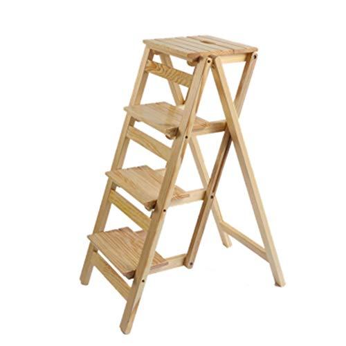 J-Escalera de Tijera Portátil Taburete De Escalera Casa Ant