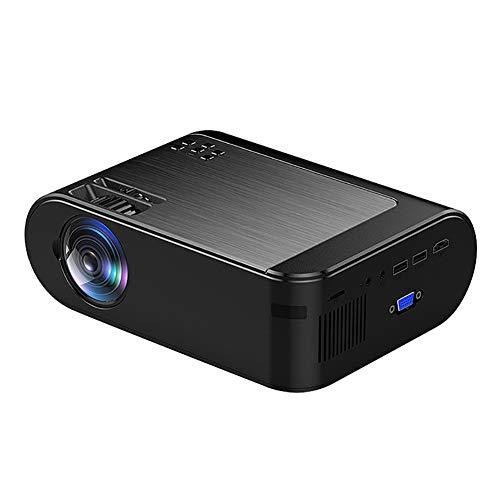 RSGK Proyector En Pantalla Inalámbrico HD, Compatible con Pantalla Full HD 1080P Y 300 Pulgadas, Compatible con TV Stick, HDMI, VGA, TF, AV, USB