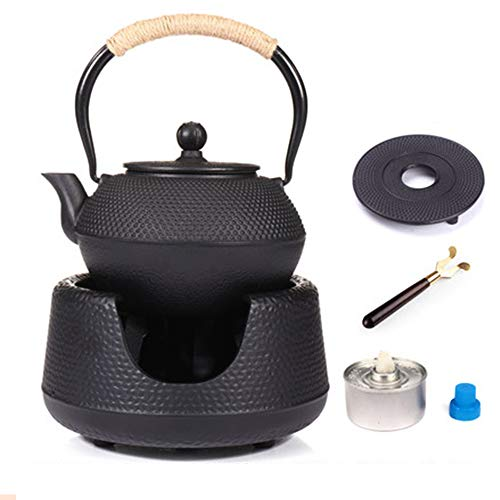 Cast Iron Teapot, Stainless Steel Filter Iron, Durable, Beautiful, The Best Teapot for Making Flavored Tea or Boiling Water