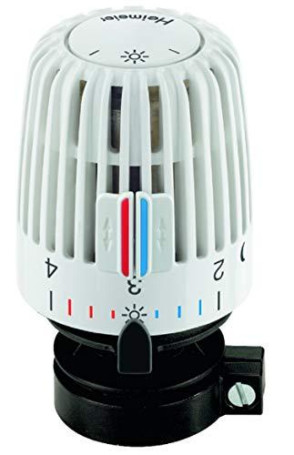 Heimeier Thermostatkopf K mit Direktanschluss für Danfoss RAV 9800-24.500, weiß
