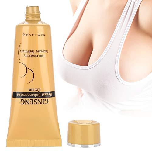 Crema de Pecho - Crema de pecho natural de ginseng para reafirmar y levantar cuidado de la piel del cuerpo para las mujeres