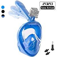 PHZ Full Face Snorkel Mask for Adults