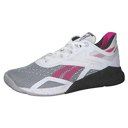 Reebok Women s Reebok Nano X Running shoe , White Black Propnk, 5.5 UK
