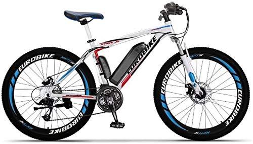 Ligero, Adulto bicicletas de 26 pulgadas de montaña eléctrica, batería de litio de 36V, marco de aluminio de aleación de campo a través eléctrico de la bicicleta, 27 de velocidad Liquidación de invent