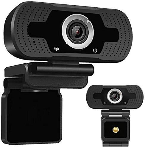 Sebasty La webcam, la cámara web de micrófono incorporada de 1080p, la cámara de gran angular HD completa para computadoras portátiles, se puede usar con todas las plataformas de medios de transmisión