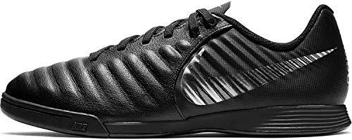 Nike Jr Legend 7 Academy IC, Zapatillas de fútbol Sala Unisex niño, Negro (Black/Black 001), 27.5 EU