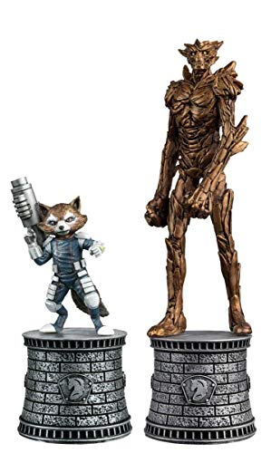 Eaglemoss Publications Marvel Chess Figurine Collection Magazine Special #2: Rocket Raccoon and Groot image