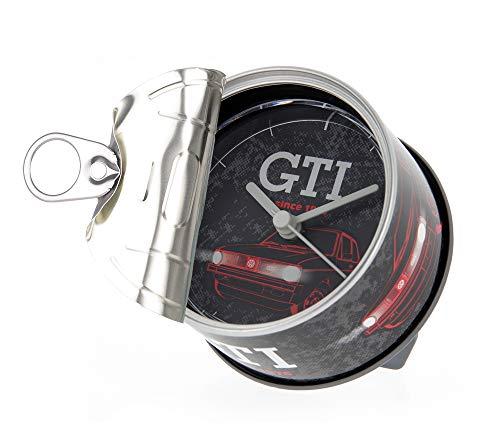 Brisa VW Collection - Volkswagen Golf GTI Orologio da tavola, Magnetico, My Clock Personalizzabile, DIY Come Foto-Regalo/Cornice/Porta-Foto/Souvenir (Since 1976/Nero)