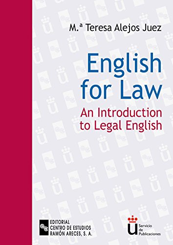 English for law: An introduction to legal english