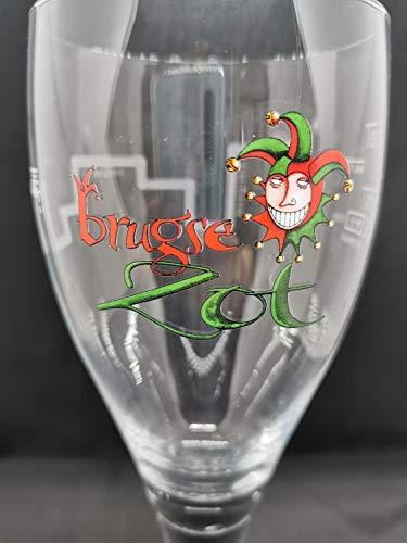 *NEW* MAREDSOUS Gold Rim Belgian Beer Glass Half Pint /& 33cl