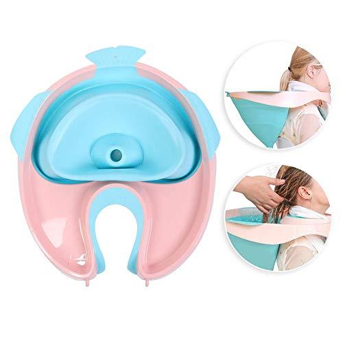 Mobiles Haarwaschbecken, Shampoo Becken, Haare im Bett waschen, für Verletzte, ältere Menschen, Bettlägerig, Behindert, Leicht zu Reinigendes Haar, Hilfsmittel