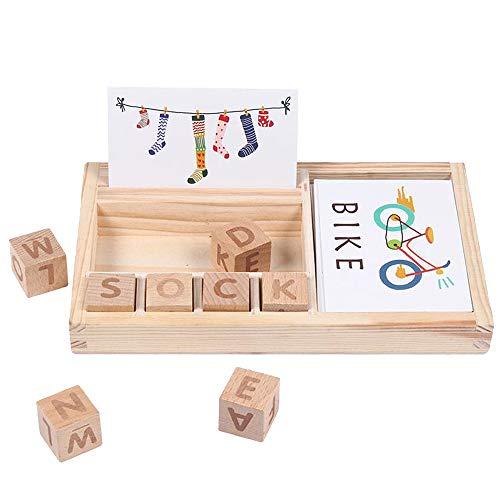 Giocattolo per apprendimento, gioco di lettere abbinato
