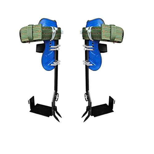 folconroad Baumkletterspike Set mit verstellbaren Sicherheitsgurt Gurtbändern, Baumkletterset mit 2...