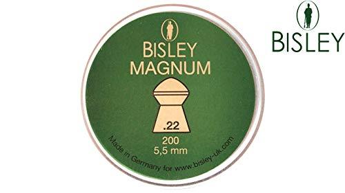 Bisley Rifle Aire Pellets .22 Caza Barrera Deportivo Blanco Práctica Cúpula Afilado - Premier .22 x 200