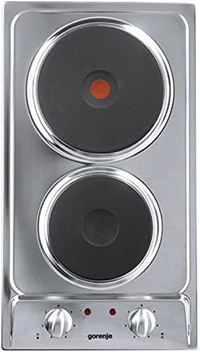 Gorenje EM30E Argent Intégré (placement) Plaque scellée 2 zone(s)