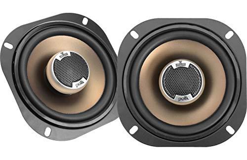 Polk Audio DB501 5-Inch Coaxial Speakers (Pair, Black)