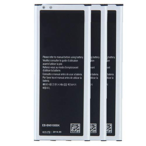 FrontTech 3220mAh OEM Battery+Charger for Samsung Galaxy Note 4 SM-N910 N910A N910P (3batteries)