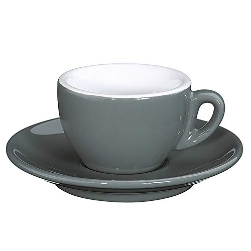 Cilio KP0000215229 ROMA Espresso- & Mokkatassen, Porzellan
