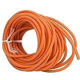 DAUERHAFT Tubo de látex de látex Natural de 10 m, Accesorio de catapulta, Adecuado para competiciones Deportivas(Orange)