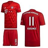adidas FCB FC Bayern München Home Kit Heimset 2019 2020 Kinder Cuisance 11 Gr 164