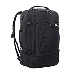 AMAZING AIRLINE COMPATIBILITY: Dimensions: 55x35x20cm, Weight: 1.3kg, Capacity: 39L. Not only is this backpack perfect for day-to-day life, it is also equally as effective as your carry-on luggage. Measuring exactly 55x35x20cm, it is accepted on virt...