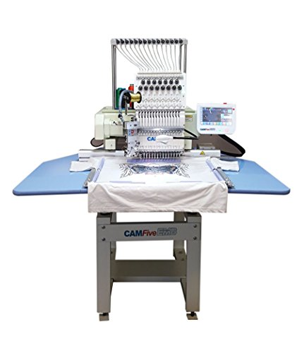 CAMFive EMB HT1501 Single Head Commercial Embroidery Machine